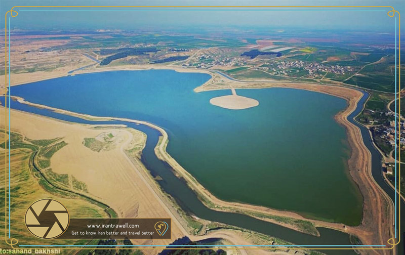 Aerial image of Ardebil