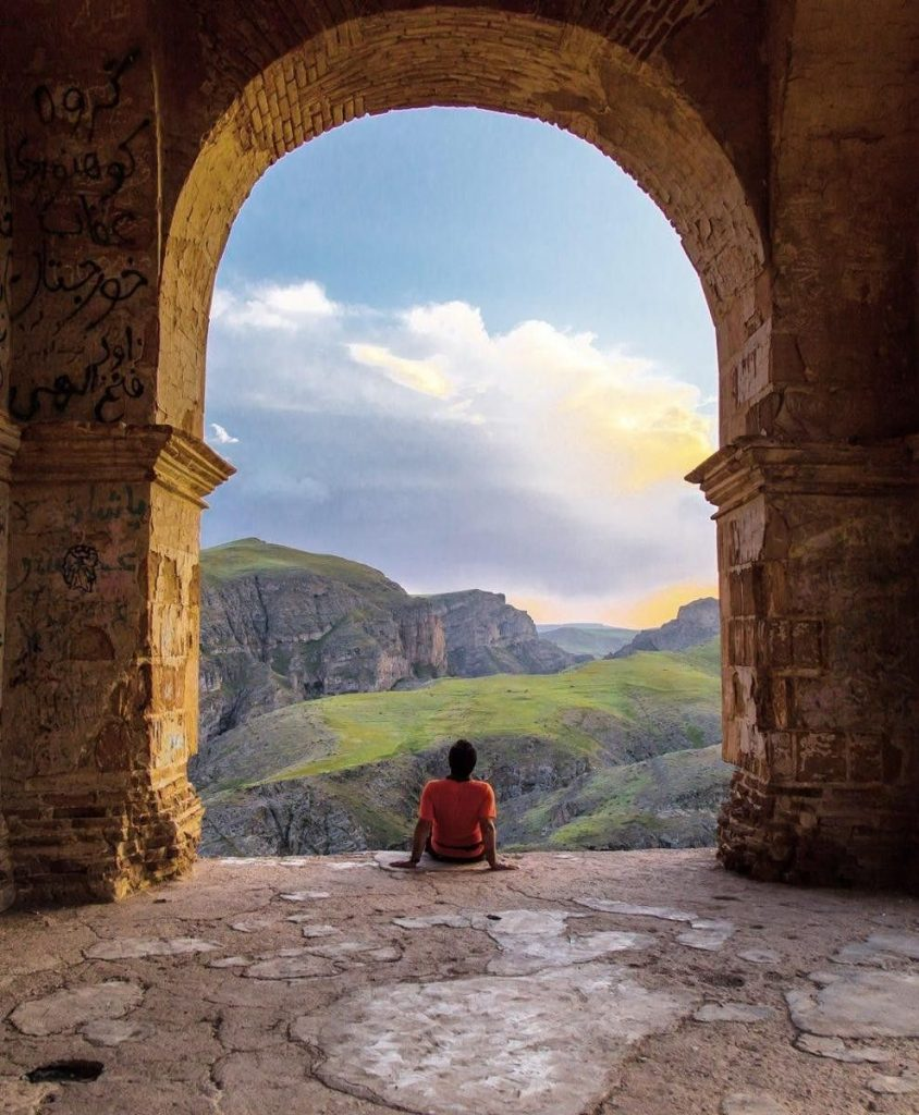 Zahhak castel in Eastern Azarbaijan