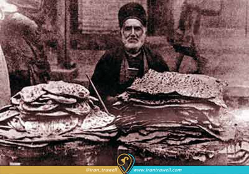 The First Photo of Iranian bakery