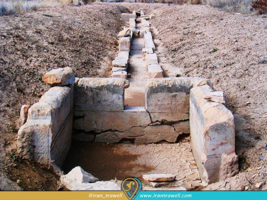 The Pasargad's waterway