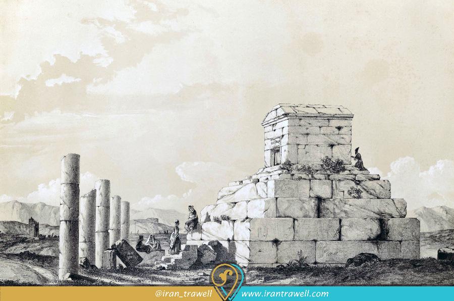 Pasargad in Qajar Period