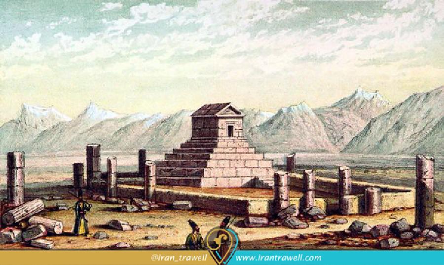 Pasargad in Eighteenth century