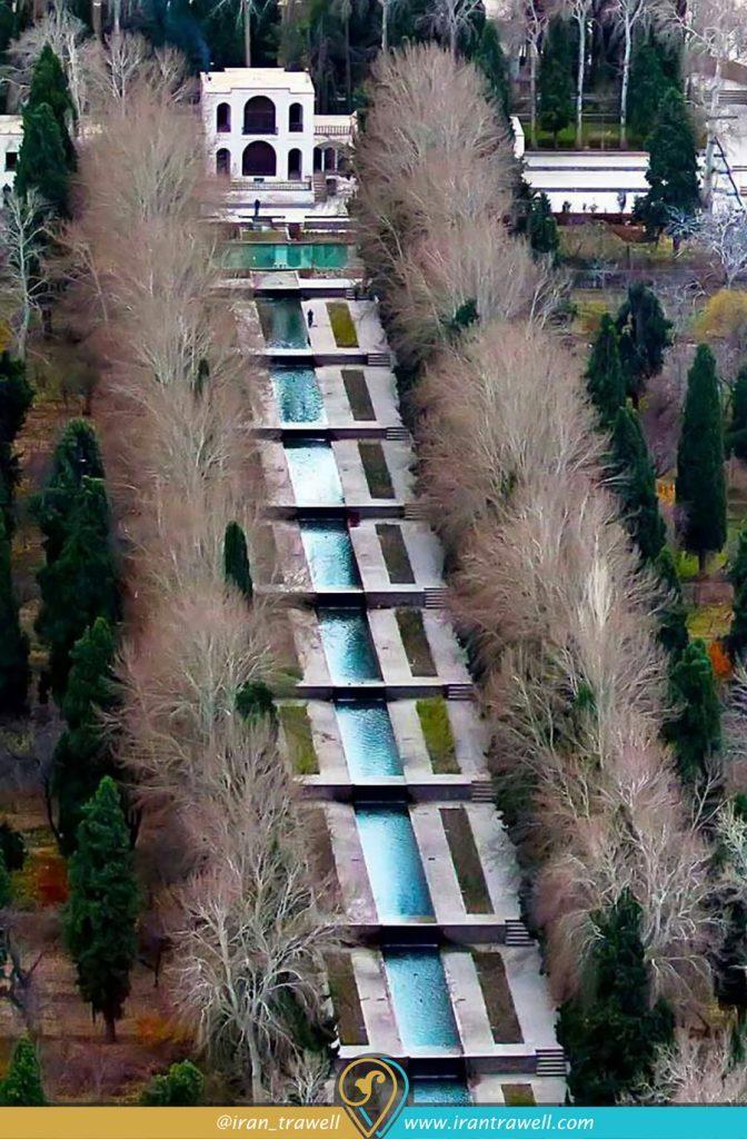 The slope of the Shazde mahan garden