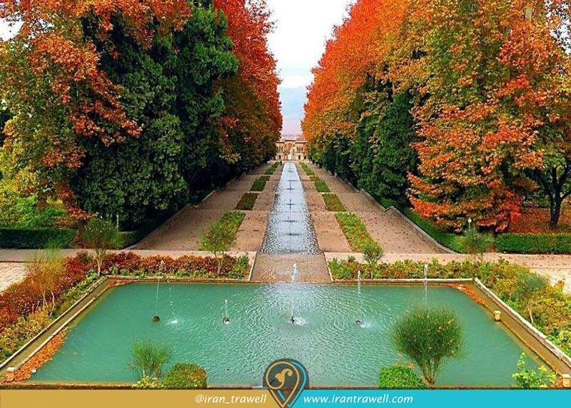 Prince Mahan Garden in autumn