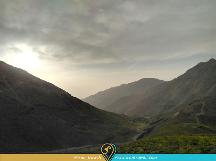 Ski Resort of Sirch in Kerman